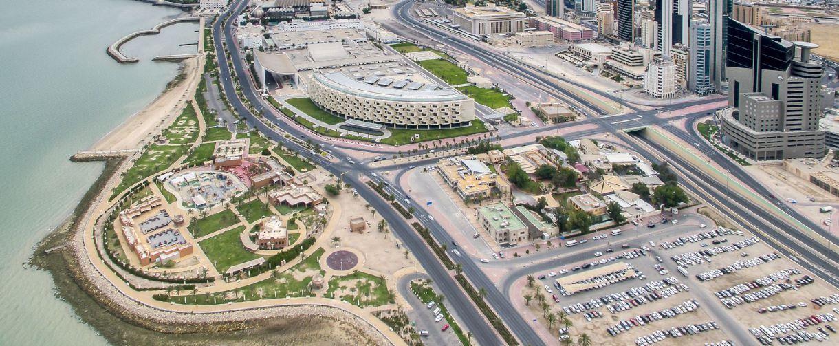kuwait drone view